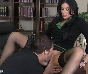 Black-haired India Summer..