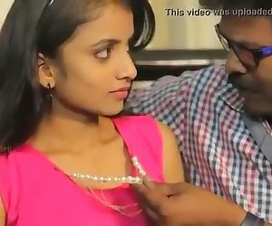 Desi Slurps Teenage Lady..